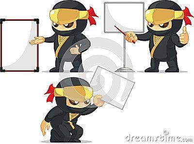 Ninja Customizable Mascot 18