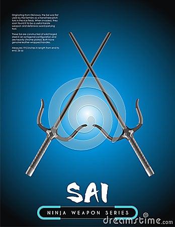 Ninja weapon SAI