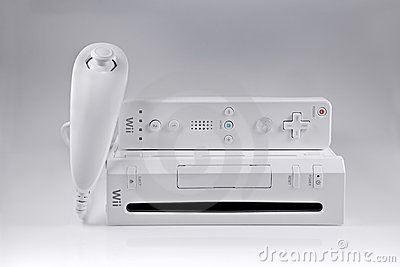 Nintendo Wii game system Editorial Photography