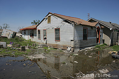 Ninth Ward Home post Katrina
