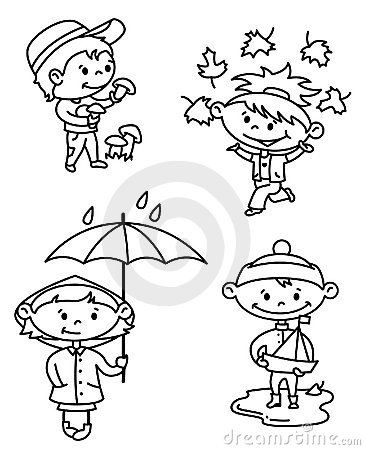 Niños del otoño