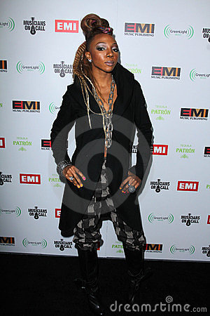 Nire AllDai at the EMI Music 2012 Grammy Awards Party, Capital Records, Hollywood, CA 02-12-12 Editorial Image
