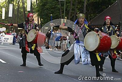 Nisei Parade 2 Editorial Photography