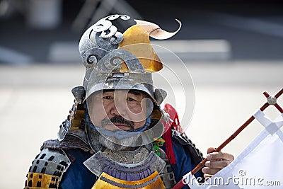 Nisei Week Samurai Editorial Photo
