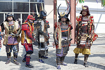 Nisei Week Samurai Editorial Photography