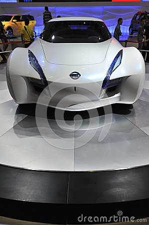 Nissan esflow concept car front Editorial Stock Photo
