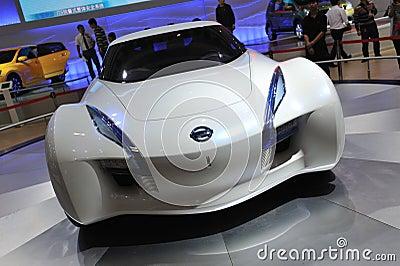 Nissan esflow concept car front Editorial Stock Photo