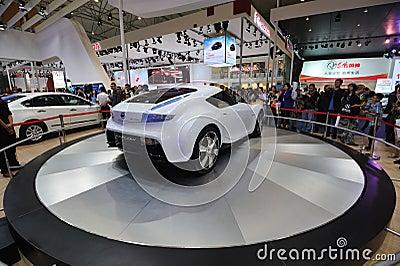 Nissan esflow concept car rear Editorial Photo