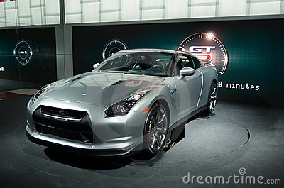 Nissan GT-R Editorial Stock Photo
