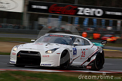 NISSAN GT-R(FIA GT) Editorial Photography