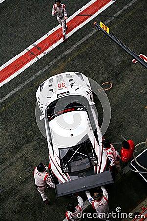 NISSAN GT-R(FIA GT) Editorial Image