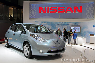 Nissan Leaf - 2011 Car of the Year Editorial Image