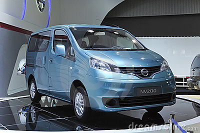 Nissan NV200 Editorial Photo