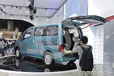 Nissan NV200 Imagen de archivo editorial