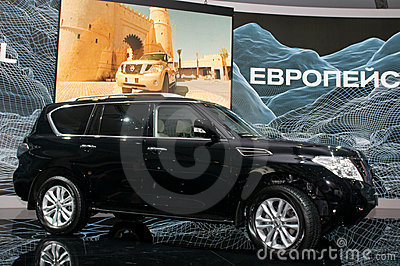 Nissan Patrol - European premiere Editorial Photography
