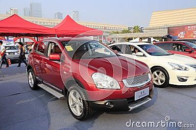 Nissan qashqai Editorial Stock Image