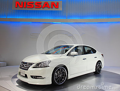 Nissan Sylphy Editorial Stock Image
