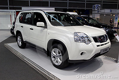 Nissan X-Trail Editorial Image