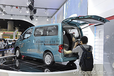 Nissans NV200 Image stock éditorial