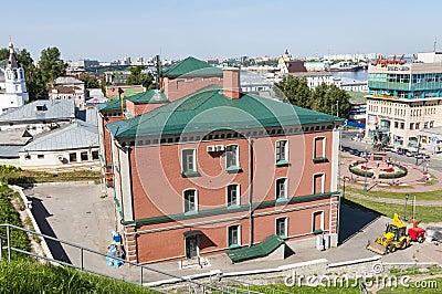 Nizhny Novgorod on Volga Editorial Image