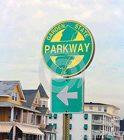 NJ Parkway Sign