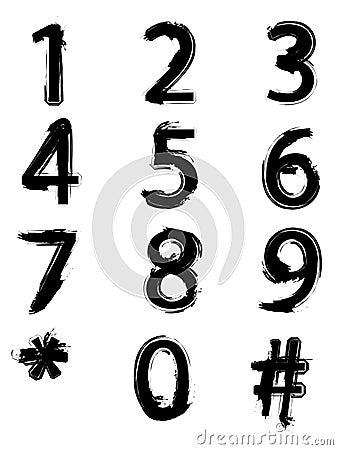 Números pintados