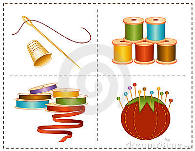 Noções Sewing de +EPS, cores de terra