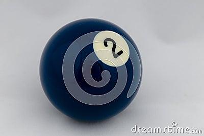 No 2 Pool Ball