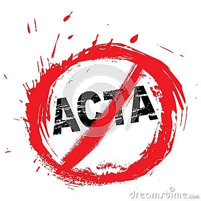 No ACTA symbol