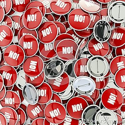 No badges