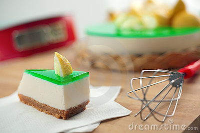 No Bake Ricotta & Lemon Cheesecake