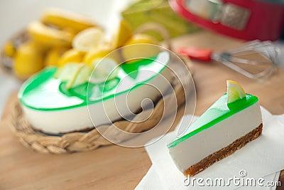 No Bake Ricotta & Lemon Cheesecake