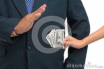 No bribe!