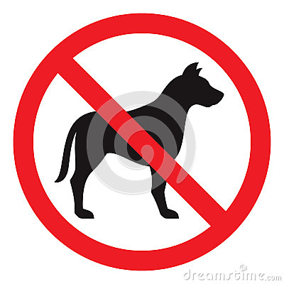 Free No Dog Sign Stock Photos - 32983233