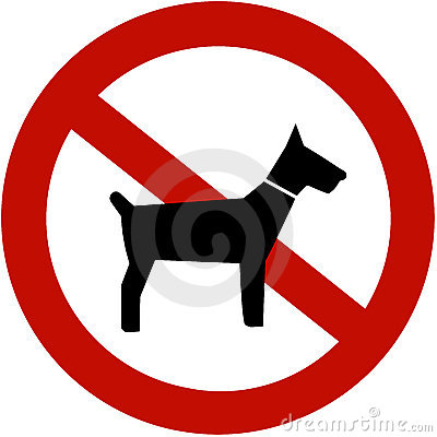 Free No Dogs Allowed Stock Photos - 3551563