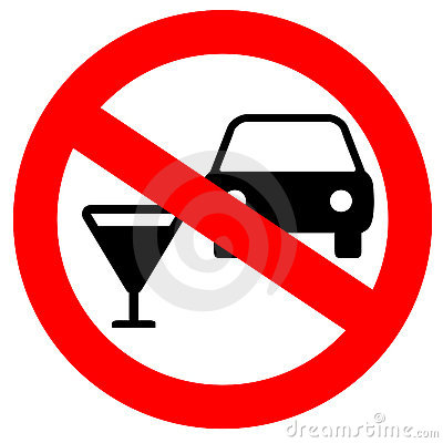 Free No Drink And Drive Stock Photography - 11797492