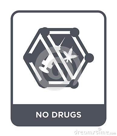 no drugs icon in trendy design style no drugs icon isolated on white background no drugs vector icon simple and modern flat cartoondealer com 135743635 cartoondealer com