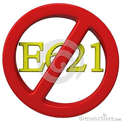 No E621 sign
