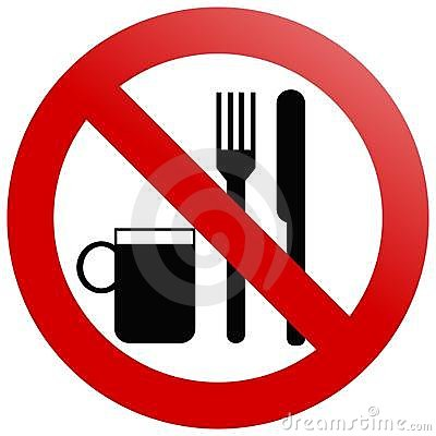 Free No Eating Stock Photography - 5195702