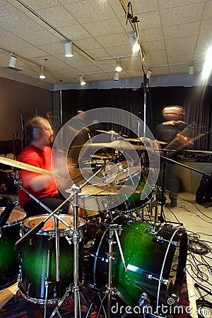 No estúdio 2