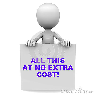 No extra cost