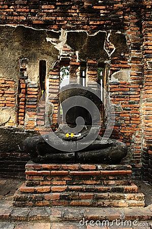 No head buddha Image at Wat Mahathat