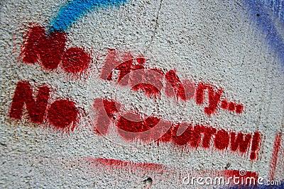No History...No Tomorrow!