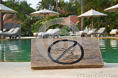 No jump sign