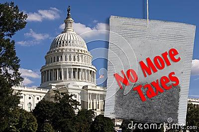 No More Taxes.
