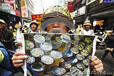 No nuke demostration Editorial Photography