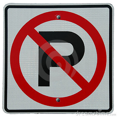 Free No Parking Royalty Free Stock Photos - 530238