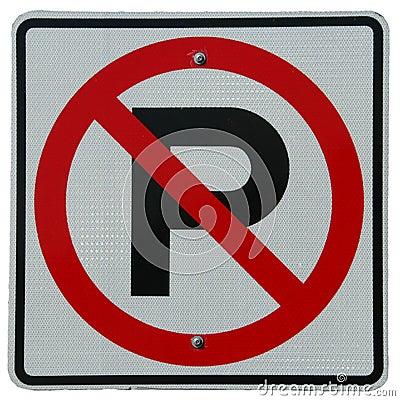 Free No Parking Royalty Free Stock Photos - 530238