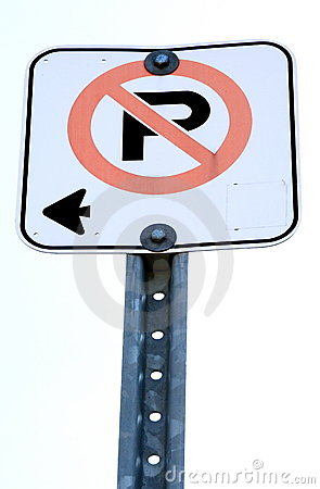 Free No Parking Stock Photography - 5318432