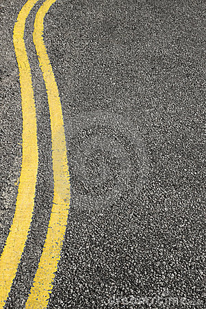 No parking double yellow lines.